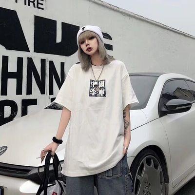 2020年新款夏季中国L.N经典短袖T恤纯棉运动休闲男女生情侣款上衣