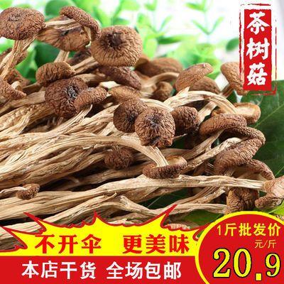 茶树菇干货新货不开伞茶树菇茶树菇煲汤茶树菇批发250g香菇干货