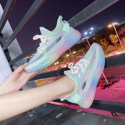 运动鞋女ins百搭2020春夏新款网红小雏菊透气休闲轻便跑步旅游鞋