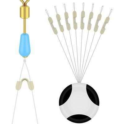 千丝坊硅胶子线分叉豆防缠绕太空豆鱼线分线器渔具钓鱼用品小配件