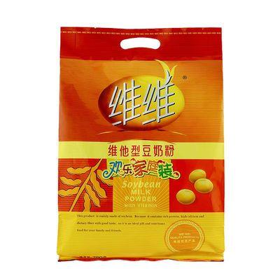 杰士邦维维豆奶粉760g维他型豆奶粉营养早餐豆浆速溶袋装豆奶360g