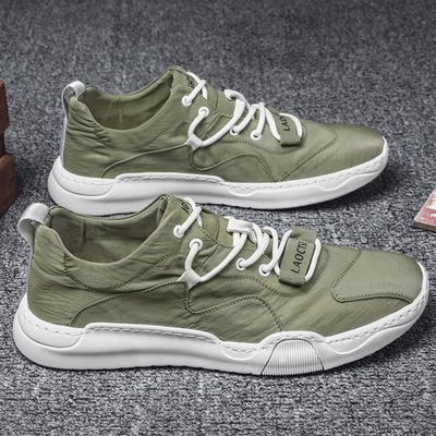 鞋子男夏季冰丝布鞋老北京帆布透气男鞋韩版潮流男士百搭休闲潮鞋