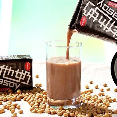 维他奶豆奶饮料巧克力味250ml*24盒整箱批发学生早餐豆奶饮料网红