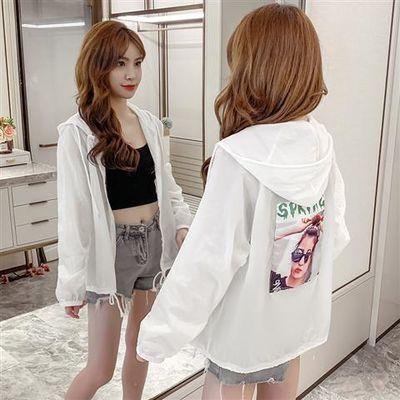 22473/防晒衣女短款百搭2020夏季新款韩版防晒服轻薄透气防紫外线外套