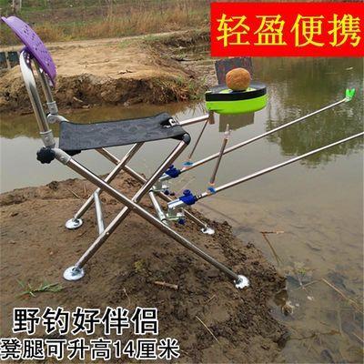 钓椅 折叠 多功能轻便2020新款坐椅子便携式钓鱼凳子特价小钓鱼椅