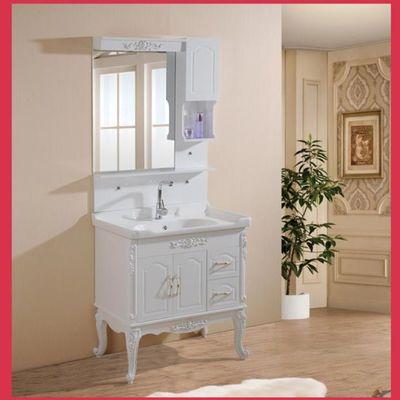 特价卫浴欧式pvc浴室柜组合卫生间洗手盆洗脸池洗漱台盆吊柜镜柜