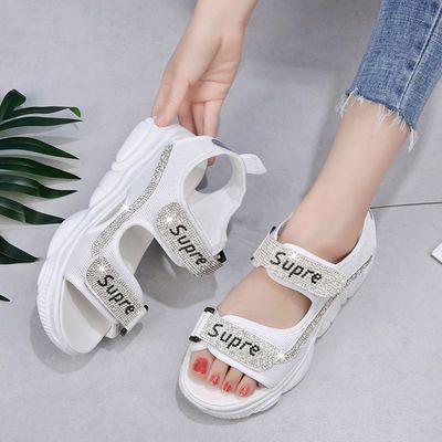 女童凉鞋夏2020新款女学生韩版初中生学生凉鞋中大童休闲凉鞋