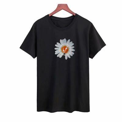 中学生大码印花体恤夏季薄款短袖打底衫t恤男韩版圆领修身上衣潮t