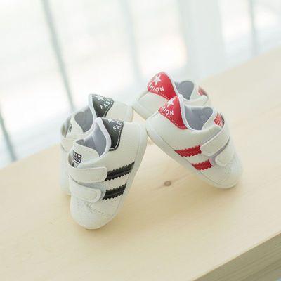春秋婴儿软底学步鞋宝宝鞋儿童运动鞋防滑男女童鞋婴儿鞋小白鞋