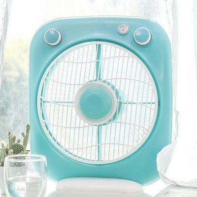 艾美特电风扇转页扇台扇家用静音10寸宿舍小巧迷你风扇 FB2580T2