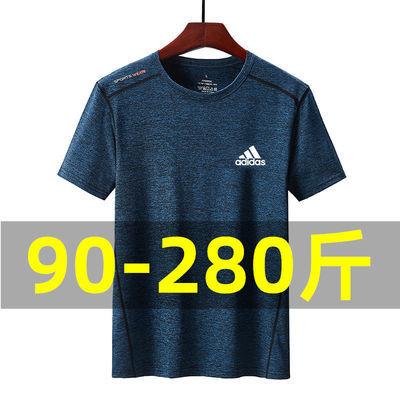 健身短袖男宽松夏季速干跑步T恤吸汗透气篮球训练运动上衣服体恤