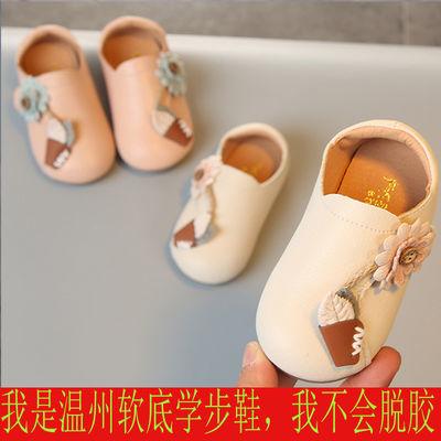 2020春秋季新款 防滑软底学步鞋婴儿鞋女宝宝鞋子女童公主鞋1-3岁