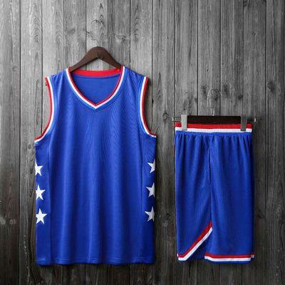 全明星球衣篮球服套装男利拉德詹姆斯韦德学生班服比赛服定制印号