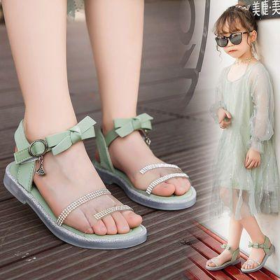 女童凉鞋2020夏季新款中大童公主韩版儿童鞋子时尚软底小女孩童鞋