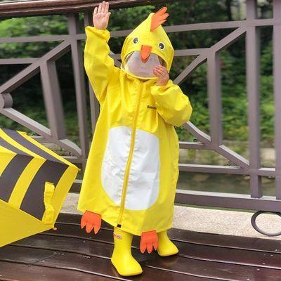 儿童雨衣幼儿园宝宝小孩男童女童小中大童卡通雨具雨披小学生防护