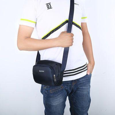 夏季新款男士包包防水牛津布小单肩包男包韩版休闲潮斜挎包帆布包