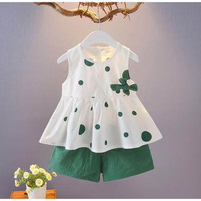 女童夏季套装2020新款韩版洋气时髦网红小女孩衣服儿童两件套童装