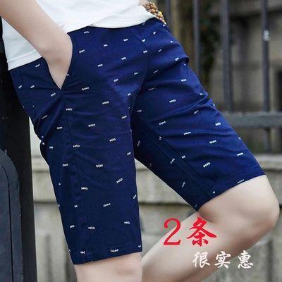 夏季纯棉短裤男五分裤韩版学生宽松男士大裤衩运动裤夏天中裤潮流