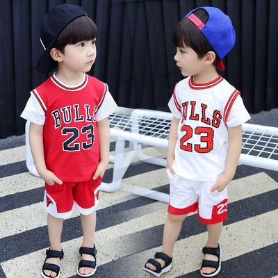 新款儿童篮球服短袖短裤套装男童运动球衣世界杯足球衣夏季训练服