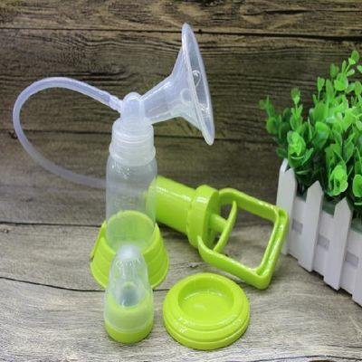 贝比熊手拉式吸奶器手动大吸力无痛孕妇产后用品母乳挤奶拔奶抽奶