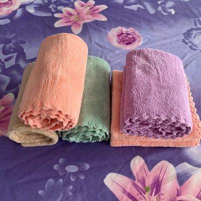 精品2020新品珊瑚绒毛巾高吸水洗脸毛巾学生用毛巾亲肤吸水好毛巾