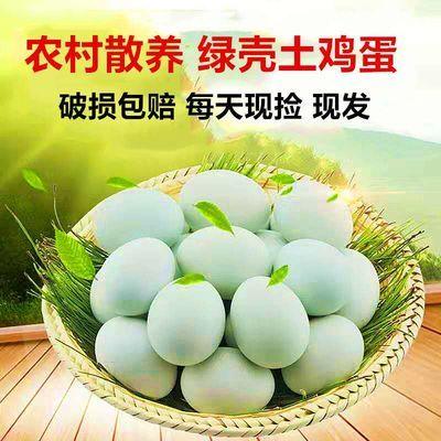 【新店促销发售】山林放养绿壳土鸡蛋纯绿皮新鲜乌鸡蛋