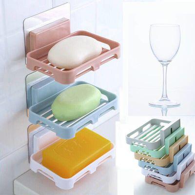 【亏本冲量肥皂盒】吸盘壁挂香皂盒沥水卫生间香皂架肥皂架免打孔