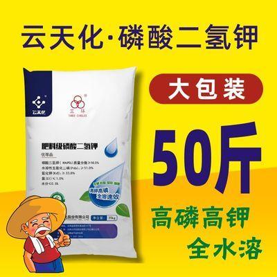 云天化磷酸二氢钾 25公斤 大包装 农业级 蔬菜瓜果叶面肥 磷钾肥