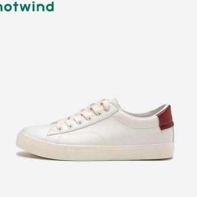 热风2020年春季新款男士时尚休闲板鞋百搭潮流小白鞋H14M0111