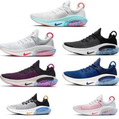 新款FK颗粒二代气垫男鞋网面透气跑步鞋飞线缓震软底女鞋运动鞋