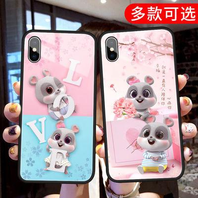 vivox21手机壳新款小鼠x30男x9s女x27潮x23玻璃壳nex情侣防摔套装