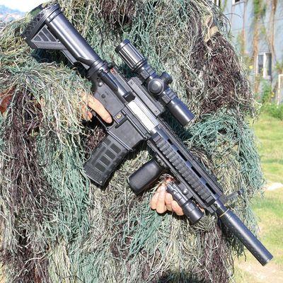 儿童玩具枪软弹水弹枪男孩巴雷特狙击枪穿越火线子弹绝地求生M41