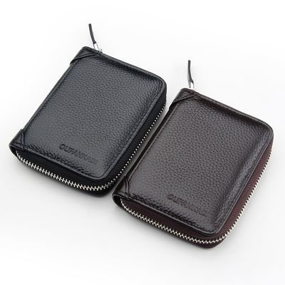 多卡位卡包男士真皮拉链卡套银行卡夹名片包驾驶证皮套女驾照本夹