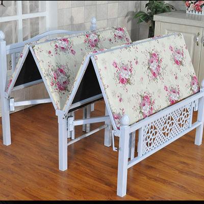 折叠床出租屋午休双人床单人床木板床折叠床可成儿童成人家用床铺