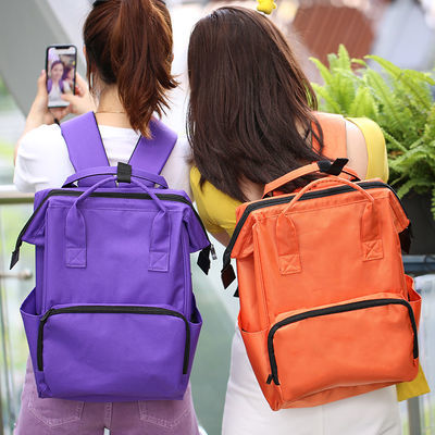 旅行包时尚潮流手提休闲双肩背包大容量男女学生书包日韩版差旅包