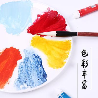 六品堂国画颜料套装24色12色18色中国画水墨画颜料工具套装