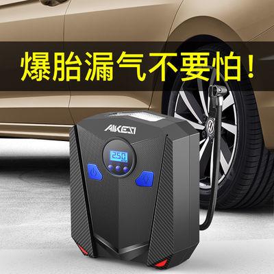 车载充气泵12V便携式汽车用数显加气筒轮胎大功率高压电动打气机