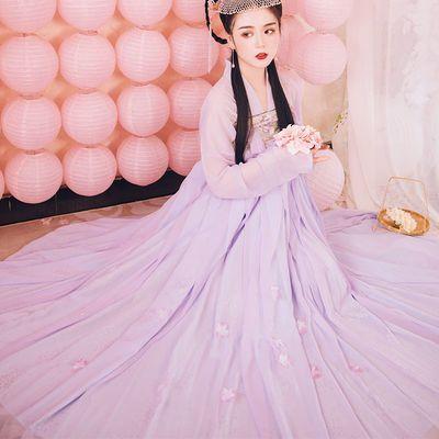 不见长安 诗本记汉服女正品原创中国风唐风对襟齐胸襦裙传统汉服
