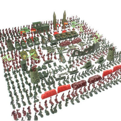 包邮二战小兵人套装沙盘儿童益智士兵怀旧士兵军事模型打仗玩具