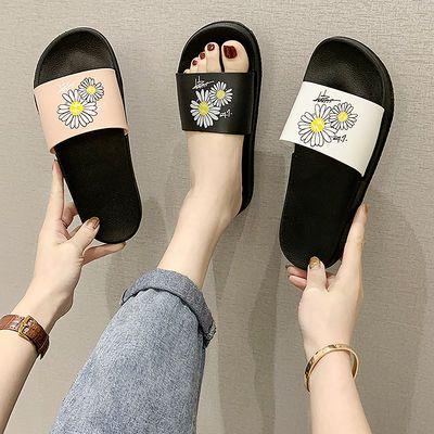 凉拖鞋女夏家用室内2020新款网红ins韩版学生时尚防滑一字拖软底
