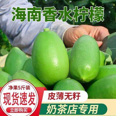 新品青柠檬香水柠檬无籽海南台湾四季新鲜水果批发产地直销包邮柠