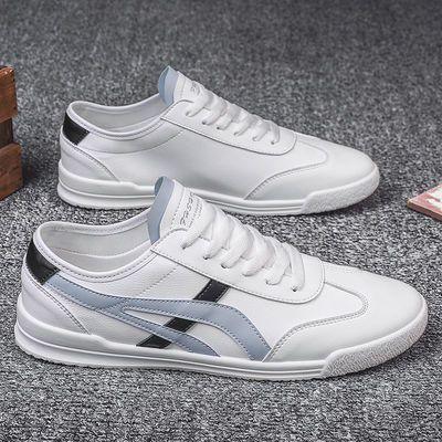 男鞋夏季2020新款潮鞋男士板鞋韩版潮流小白鞋休闲帆布鞋透气鞋子