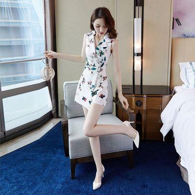 短裤宽松套装连体裤女夏2020新款小个子显高西装休闲裤气质阔腿裤