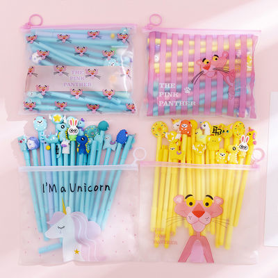 开学好礼韩国is少女心网红套装笔学生创意可爱卡通中性笔20支袋装