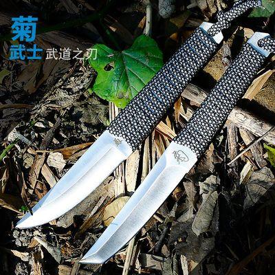 户外刀具防身锋利荒野随身小刀多功能军刀直刀战术求生刀高硬度钢