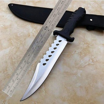 高硬度军刀户外刀具直刀野外求生防身随身小刀战术特战水果刀刀具