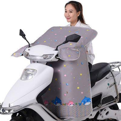 电动车挡风被夏季夏天电瓶车摩托防晒罩电车防风罩防雨春秋薄款