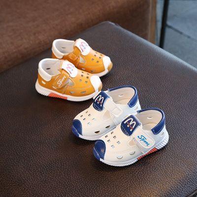 春夏季宝宝鞋男女童凉鞋0-1-2-3岁宝宝凉鞋防滑软底婴儿学步鞋子