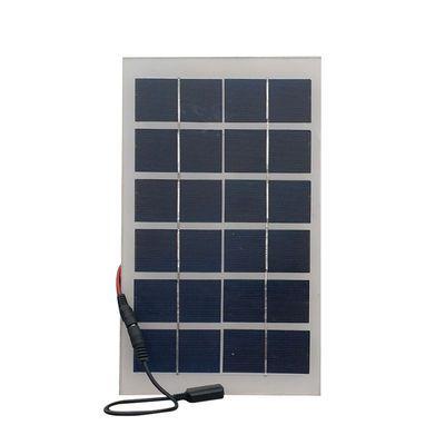 6V6W太阳能电池板光伏发电系统板5V2A稳压器移动电源手机充电宝