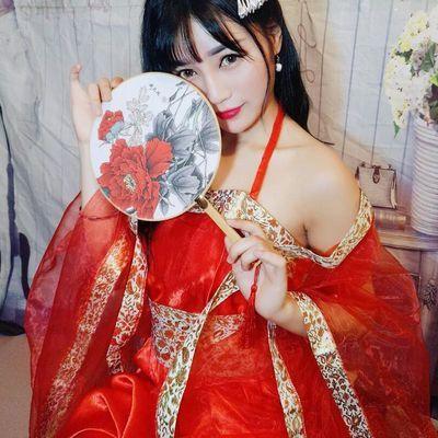古装女服装汉唐仙女装改良汉服女中国风唐装女贵妃装古风性感飘逸